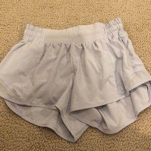 Light purple lululemon shorts size 2